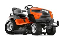 Husqvarna garden tractor with side ejection