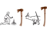 Scout- Outdoor- Camping & Hunting axes
