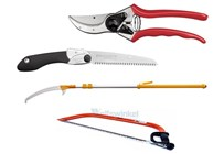 Hand pole saws and loppers