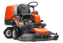Husqvarna Front mower with collection