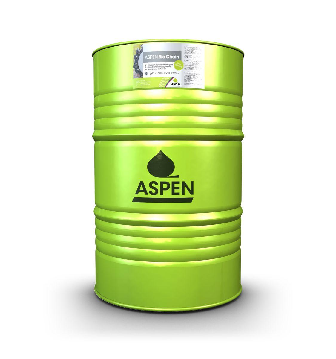 Aspen bio kettingolie vat van 200 liter