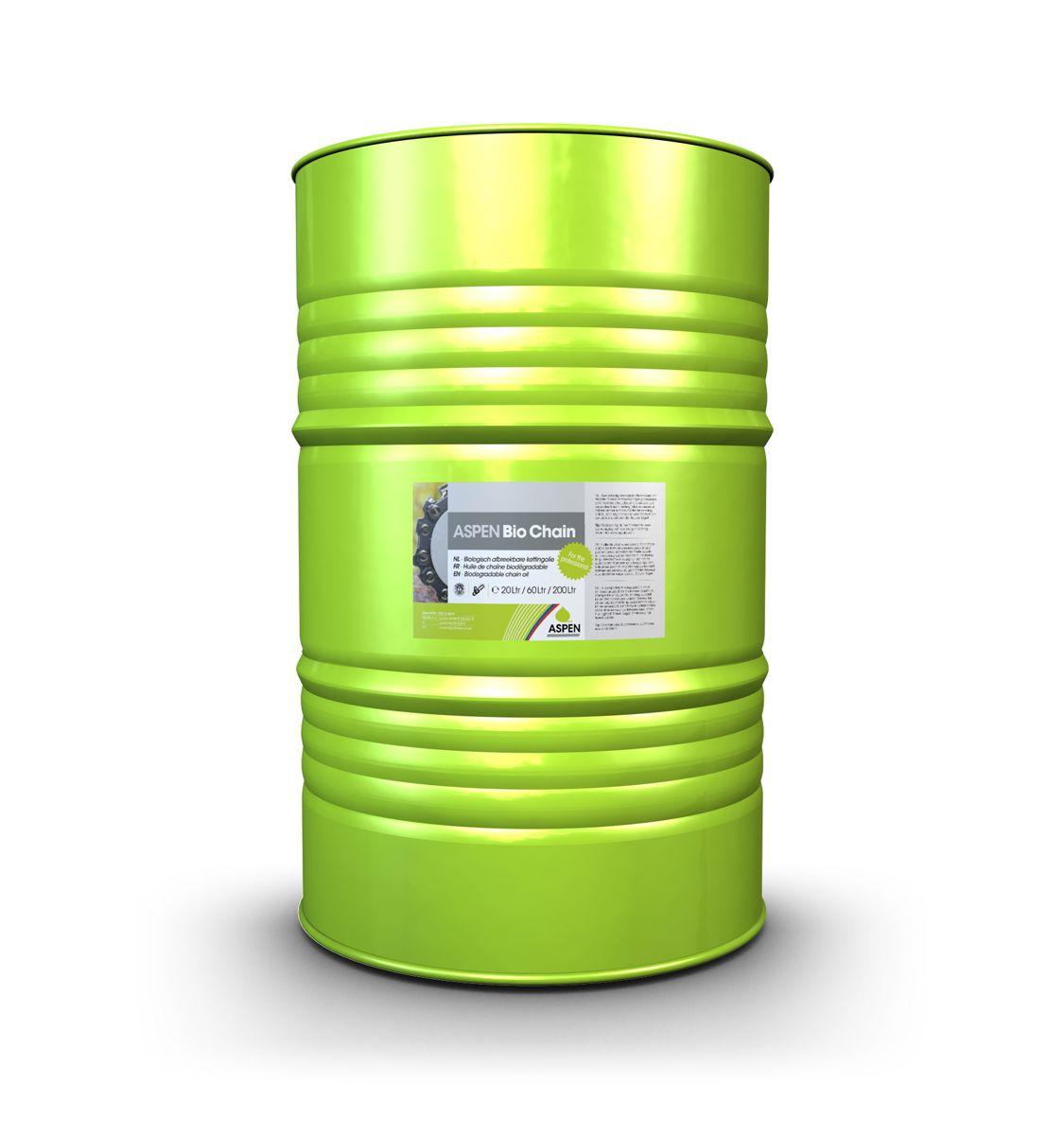Aspen bio kettingolie 60 liter