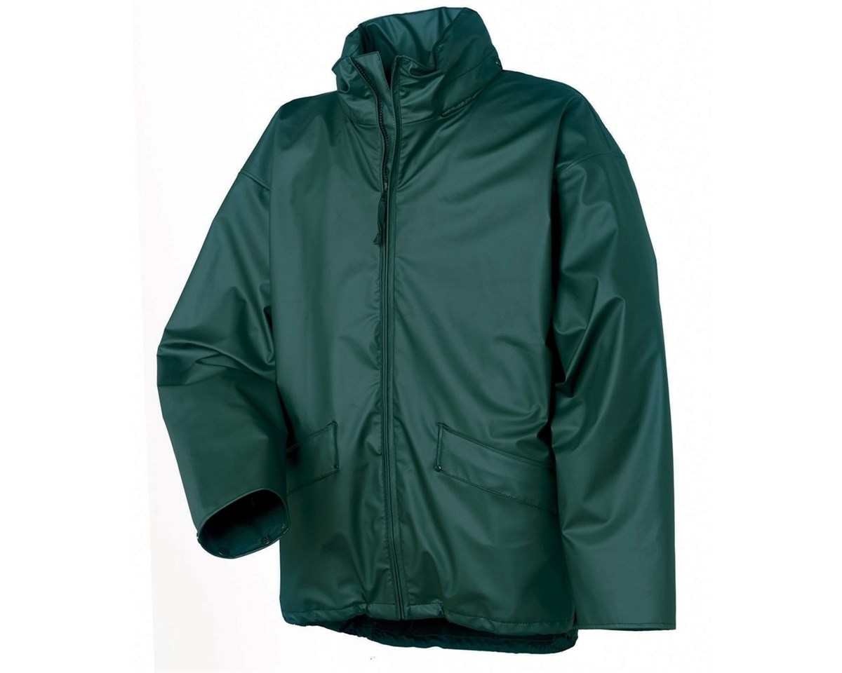 Helly hansen vos regen jacket groen l