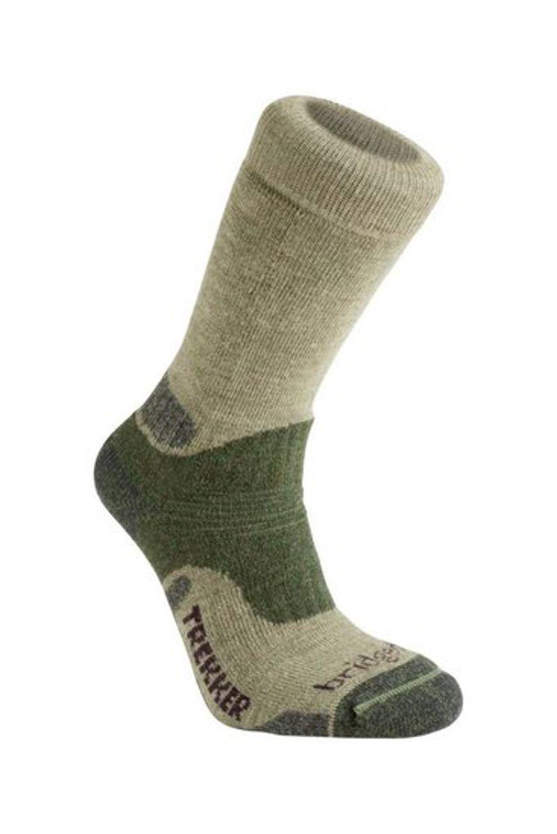Midweight merino endurance boot-groen-s