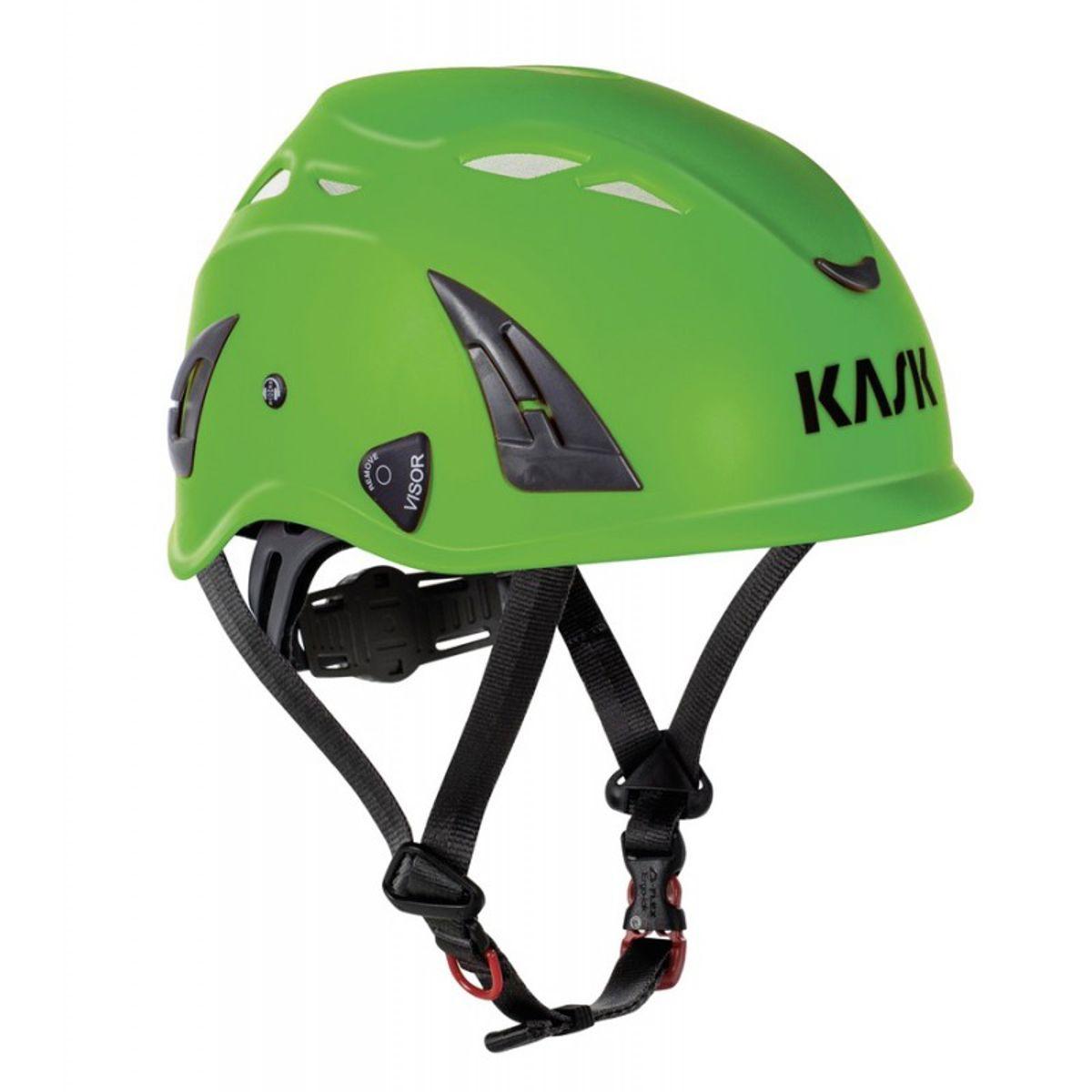 Kask helm plasma aq - lichtgroen - en397