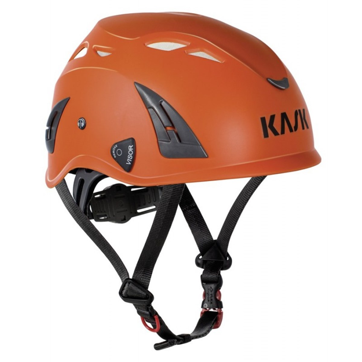 Kask helm plasma aq - oranje - en 397