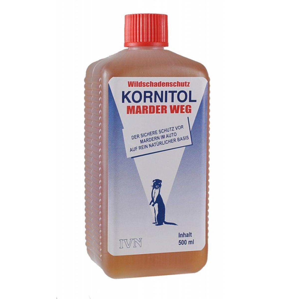 Kornitol marter weg bestrijdings middel