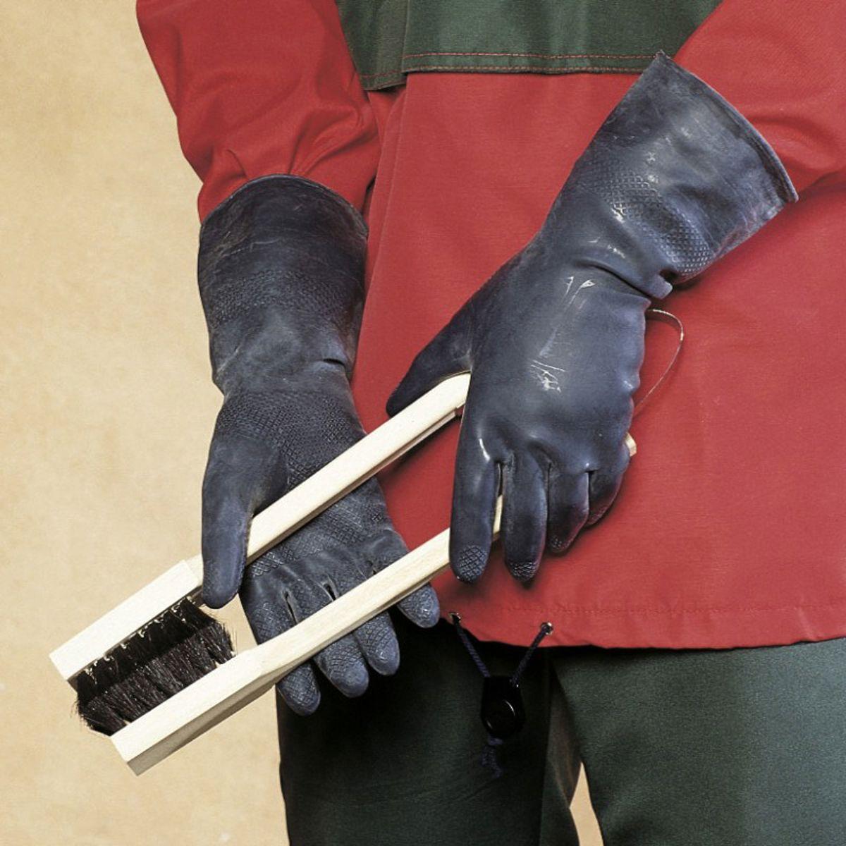 Veiligheids chemicaliën handschoen