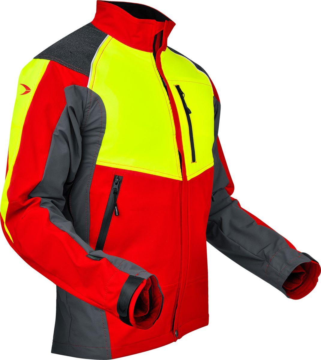 Pfanner ventilation jack rood geel xxl