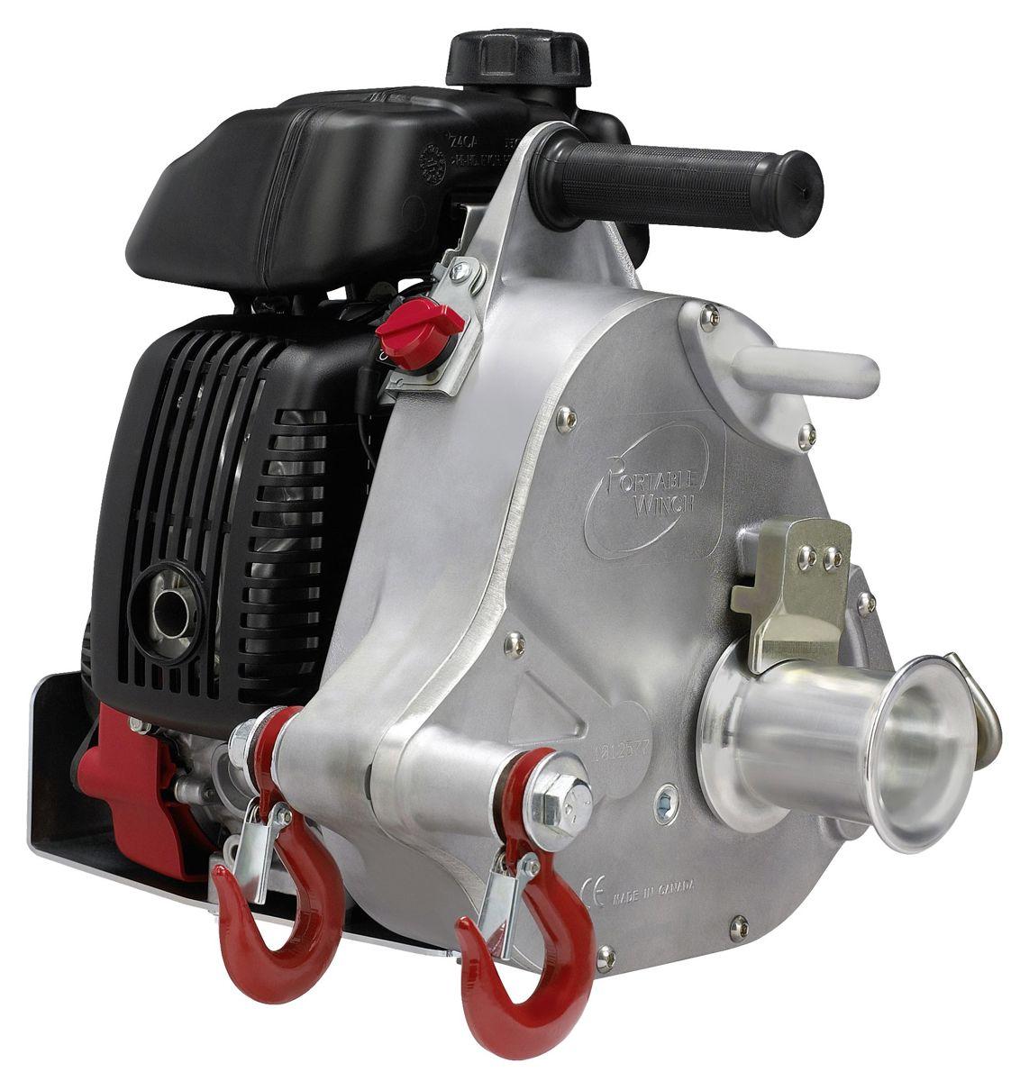Portable winch benzine lier pcw5000