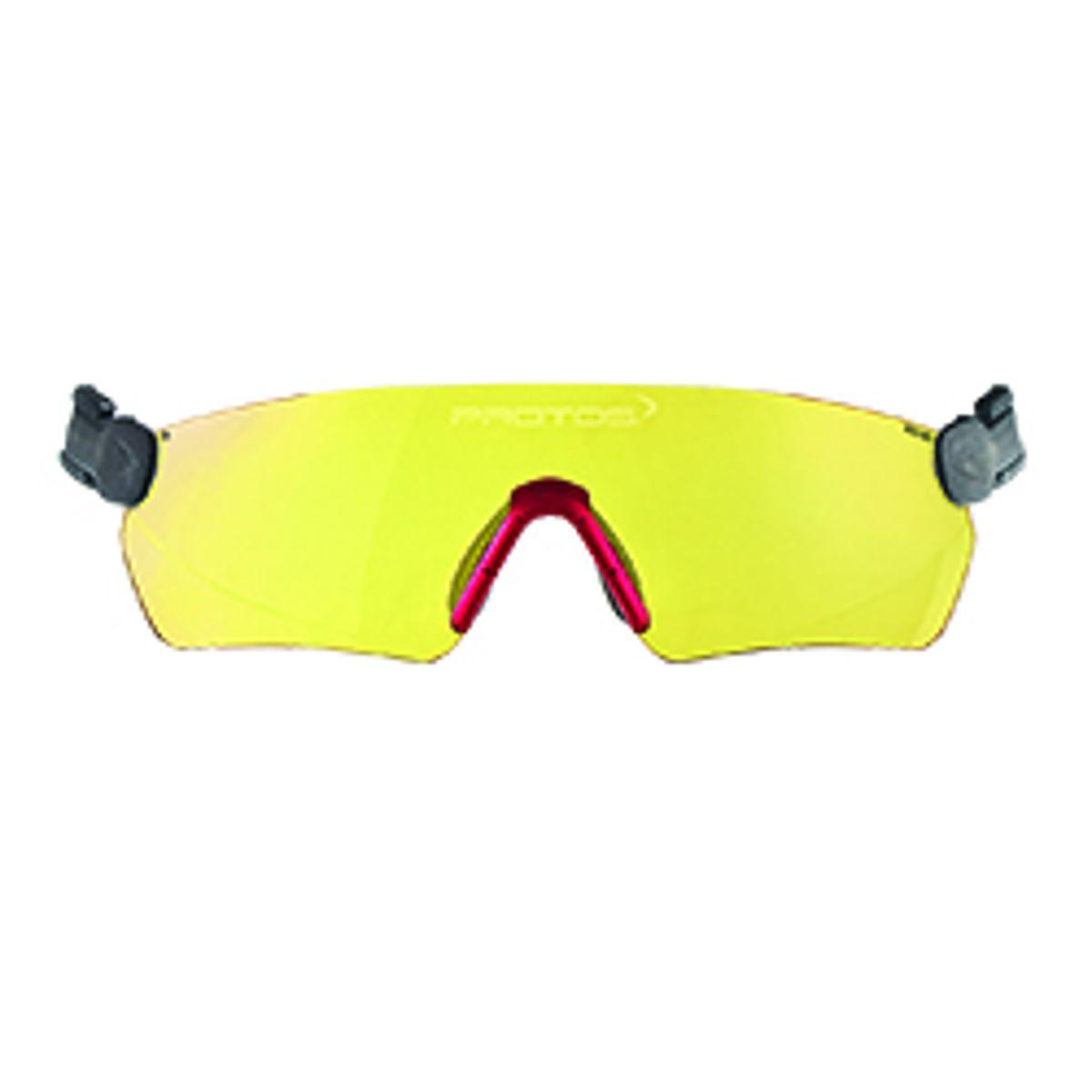 Protos inzet veiligheids bril geel
