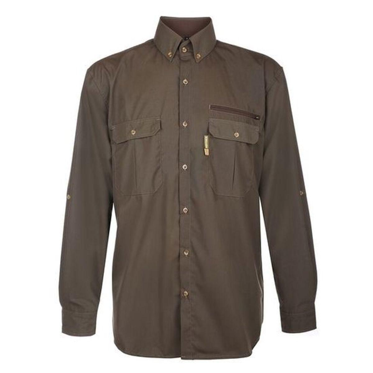 Rovince blouse ergoline man groen xs
