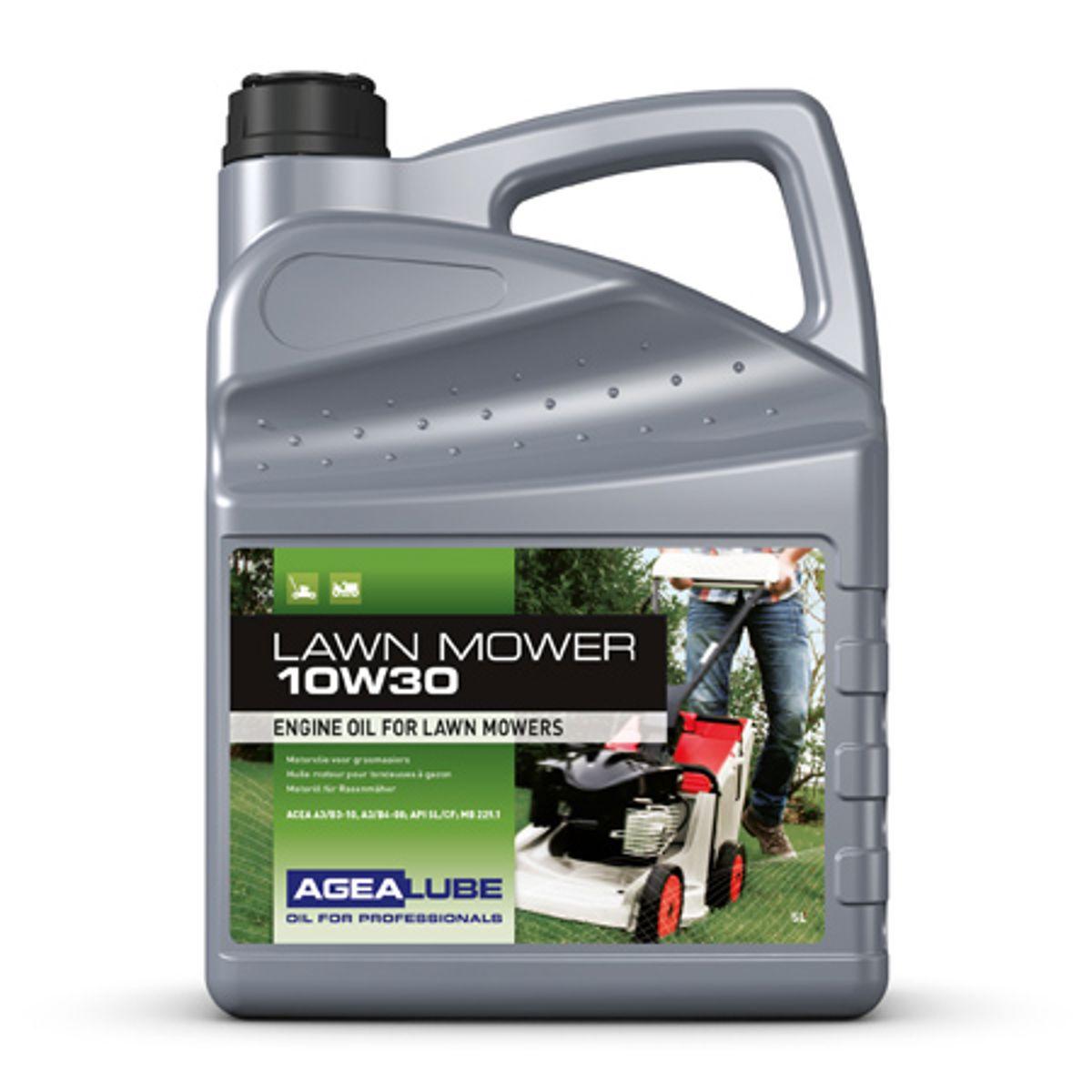 Agealube lawn mower 10w30 motorolie 5l