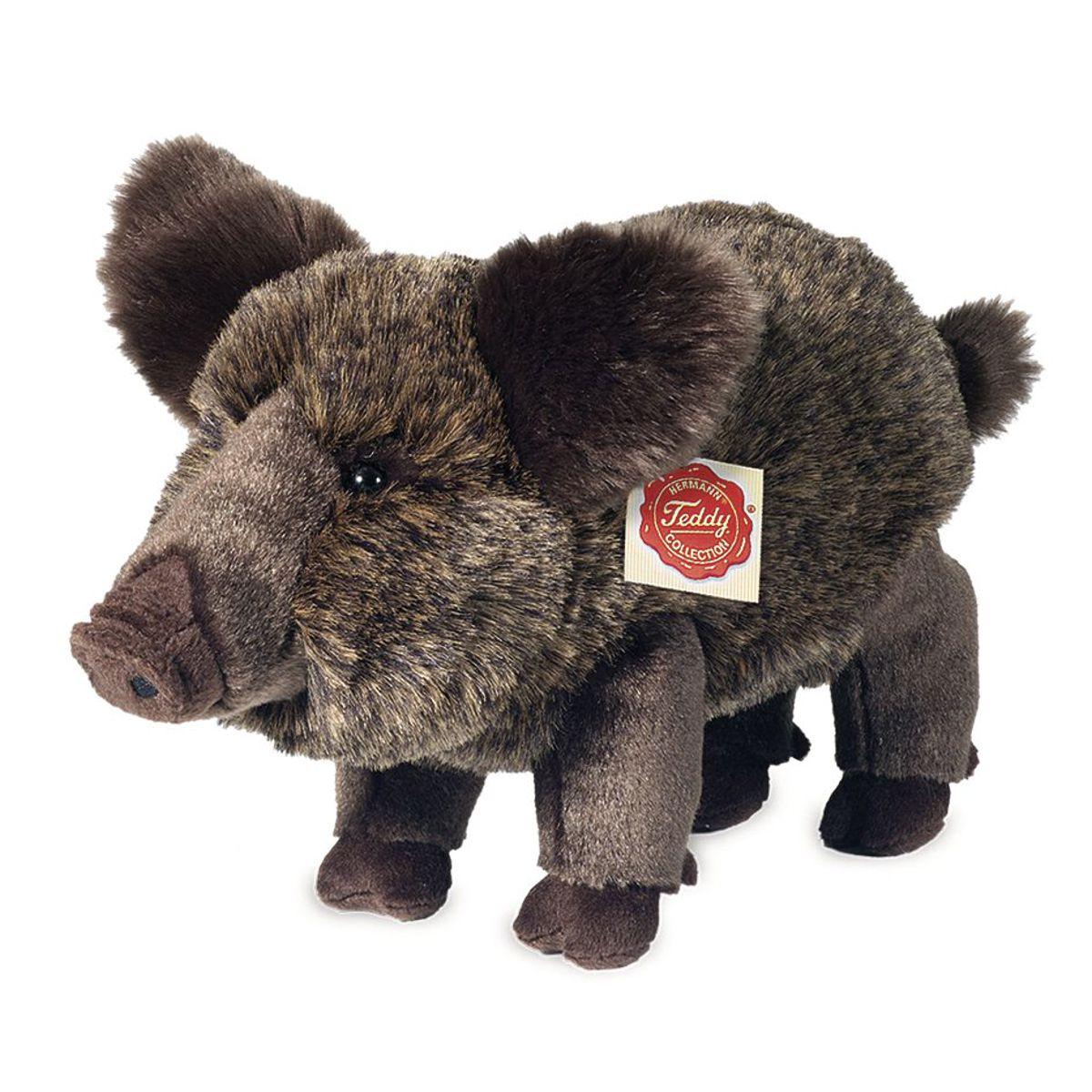 Hermann teddy wildzwijn pluche knuffel