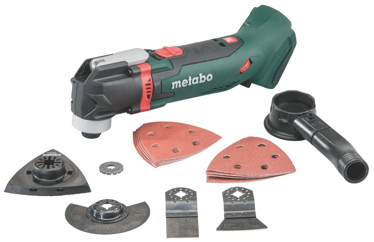 Metabo accu zaag schuur schraap machine