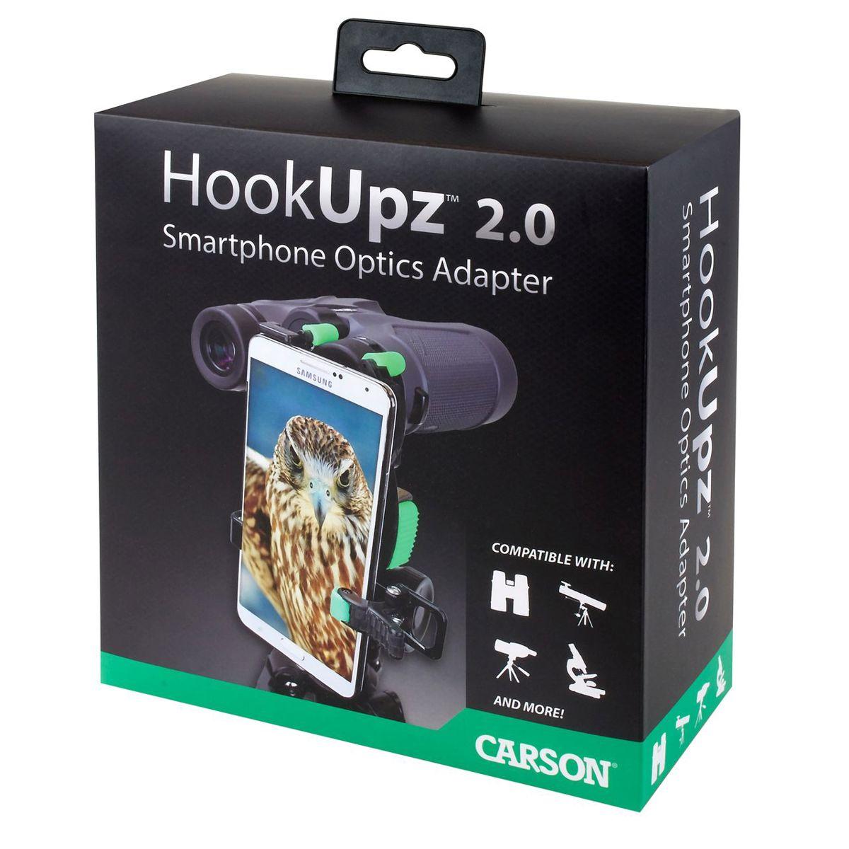 Hookupz 2.0 telefoonhouder verrekijker