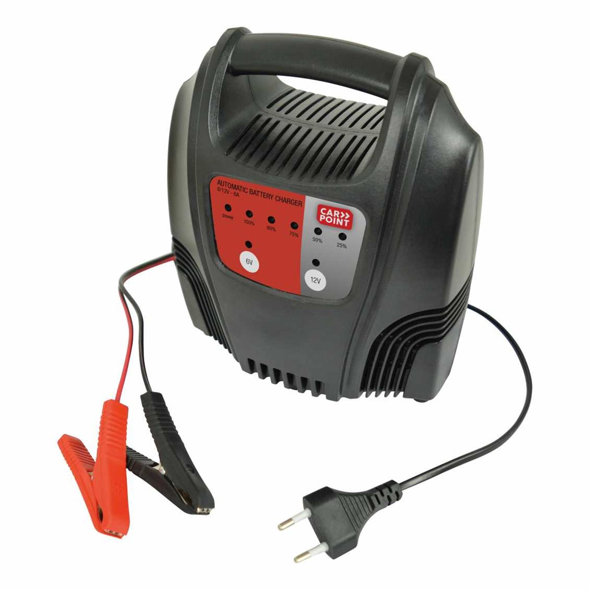 Carpoint acculader 6a 6 volt & 12 volt