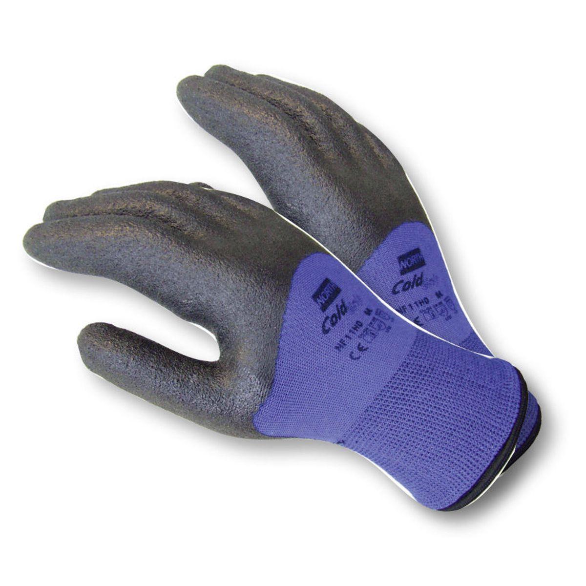 North cold grip gevoerde handschoen 10