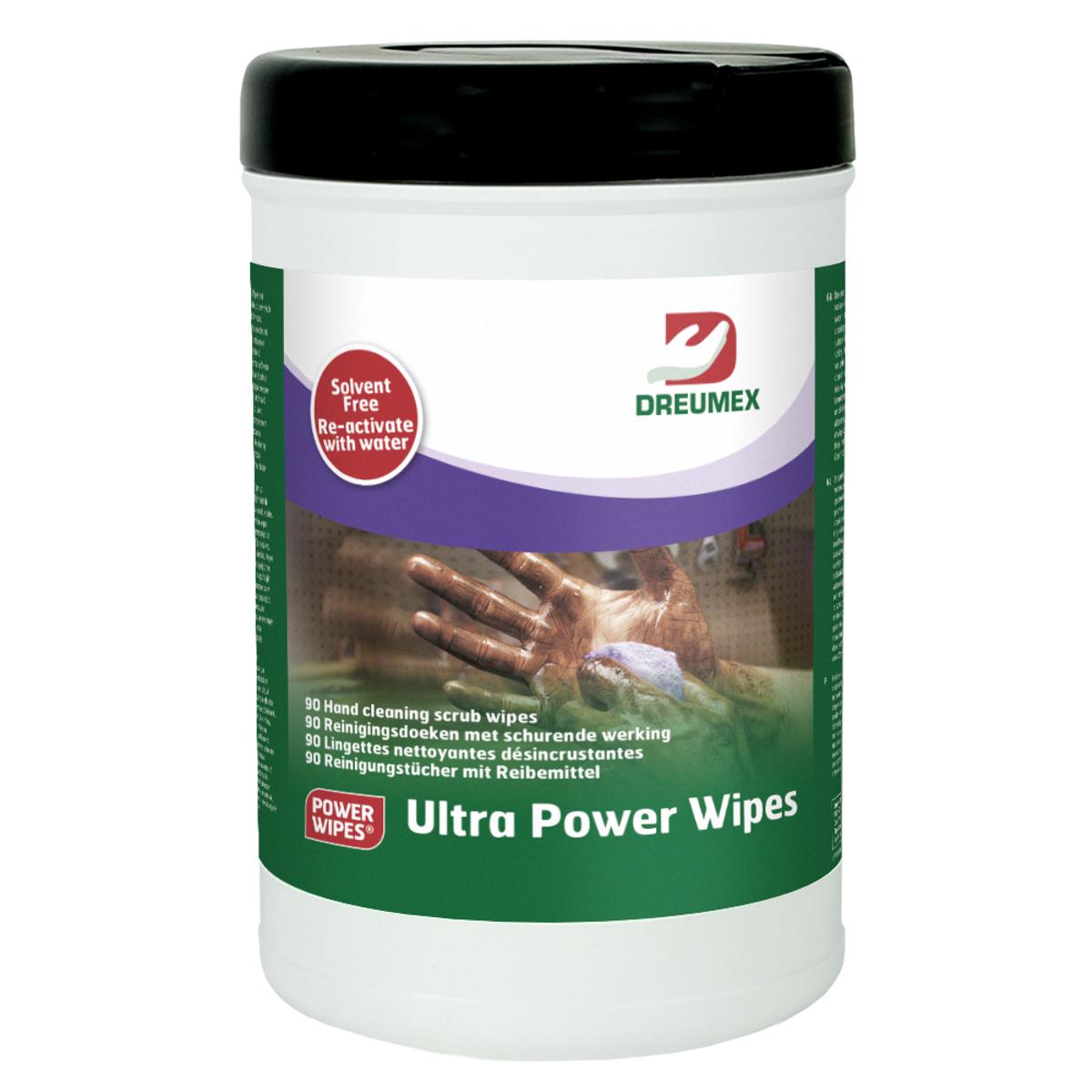 Dreumex ultra power wipes 90 doeksjes