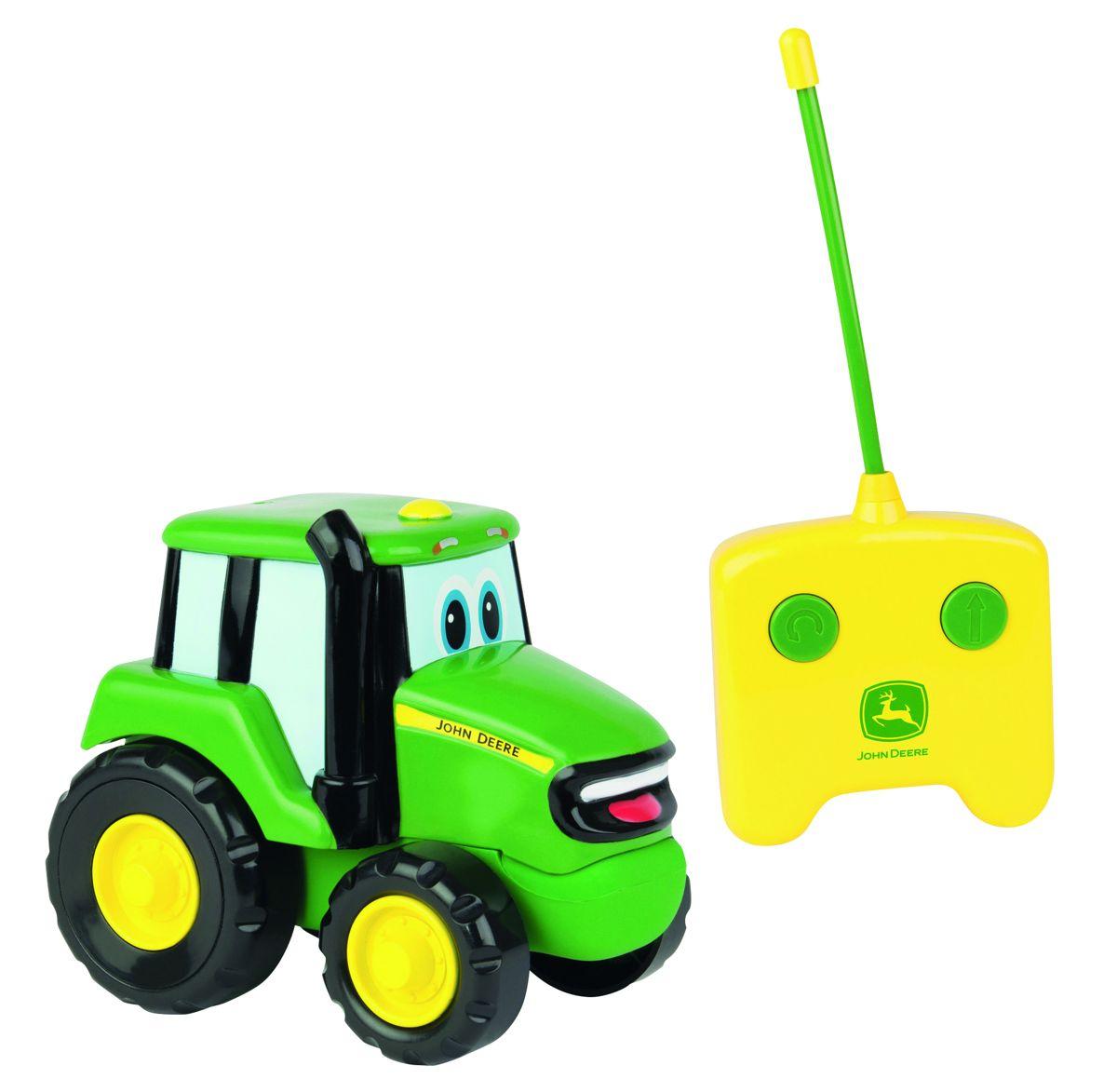 Britains johnny tractor met afstandsbedi