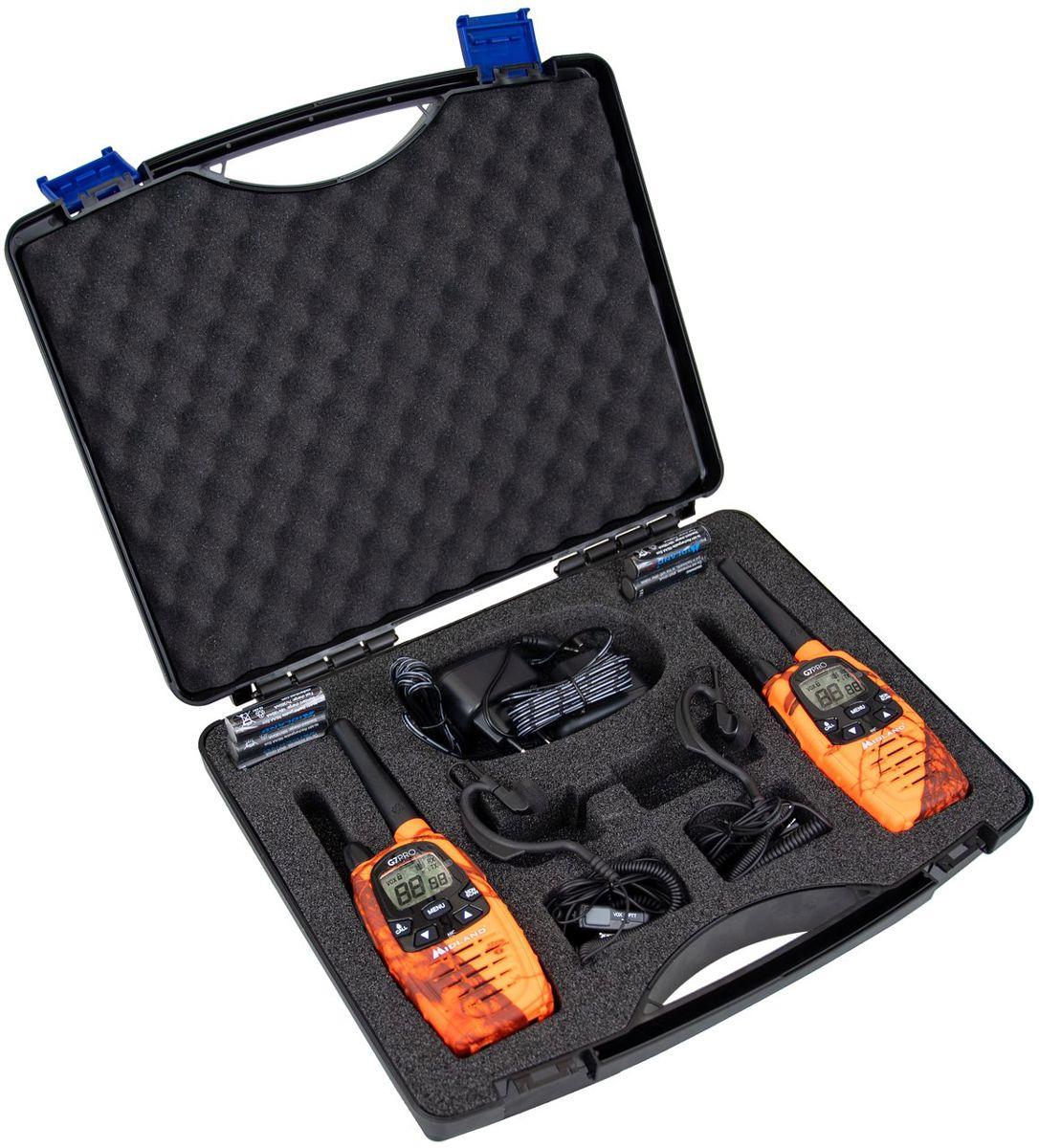 Midland g7 pro koffer met headset compl