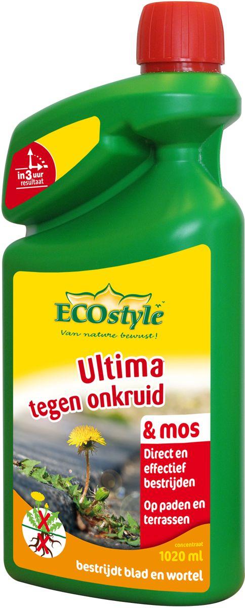 Ecostyle ultima onkruid & mos conc. 1020