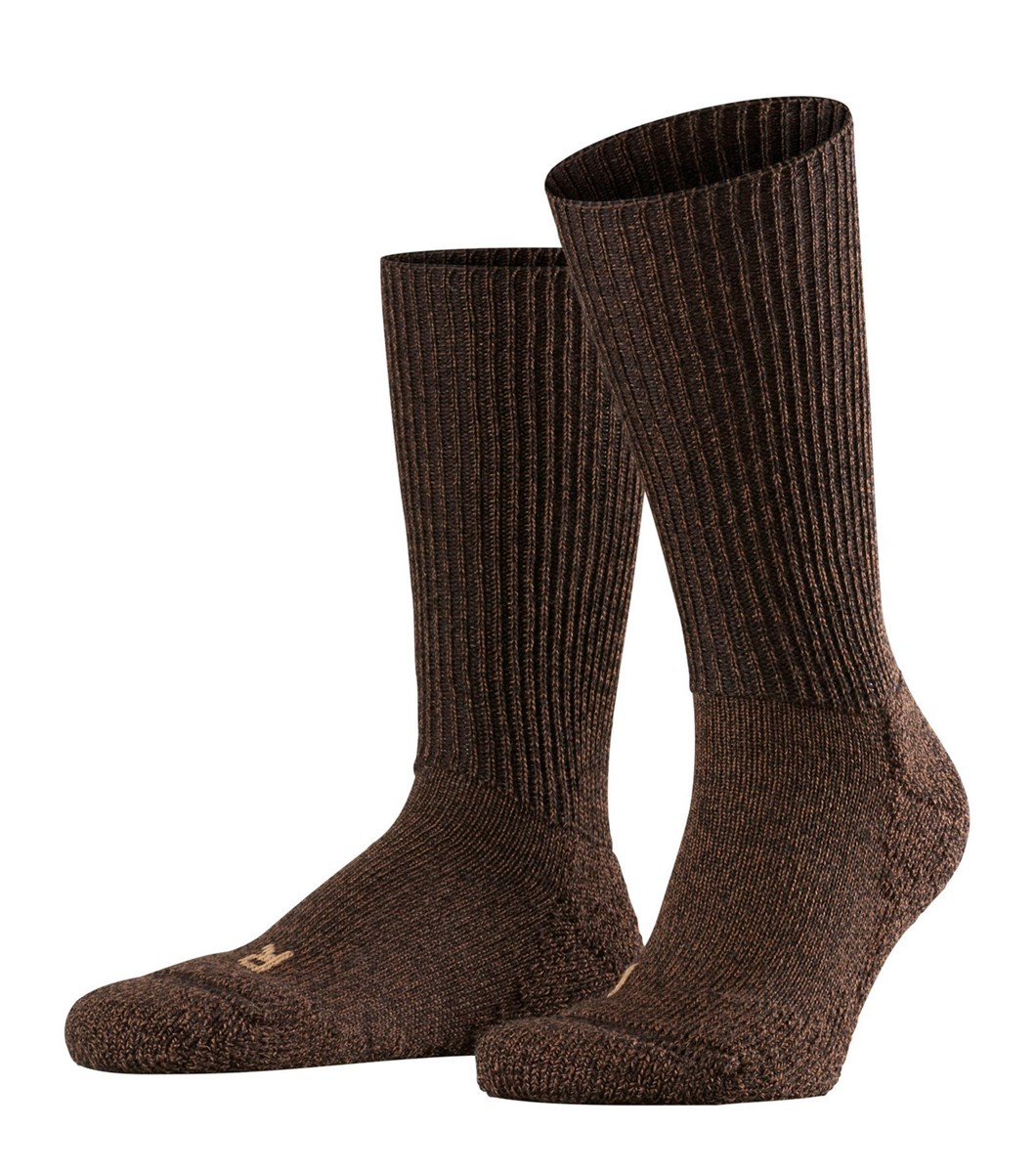 Falke walkie ergo bruin sokken 35-36