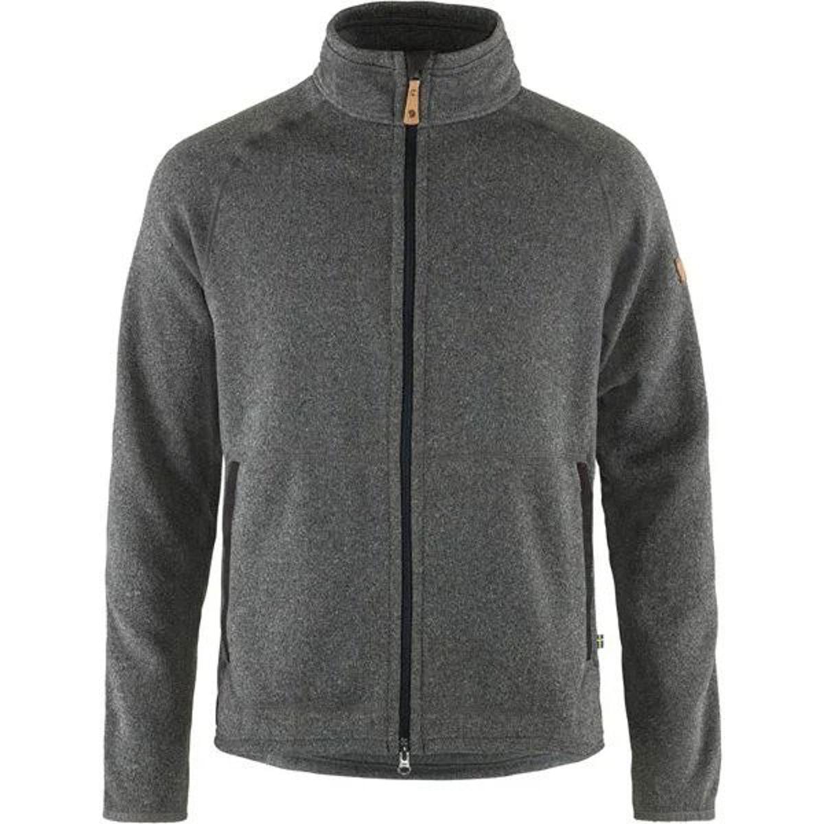 Fjällräven övik fleece vest dark grey l