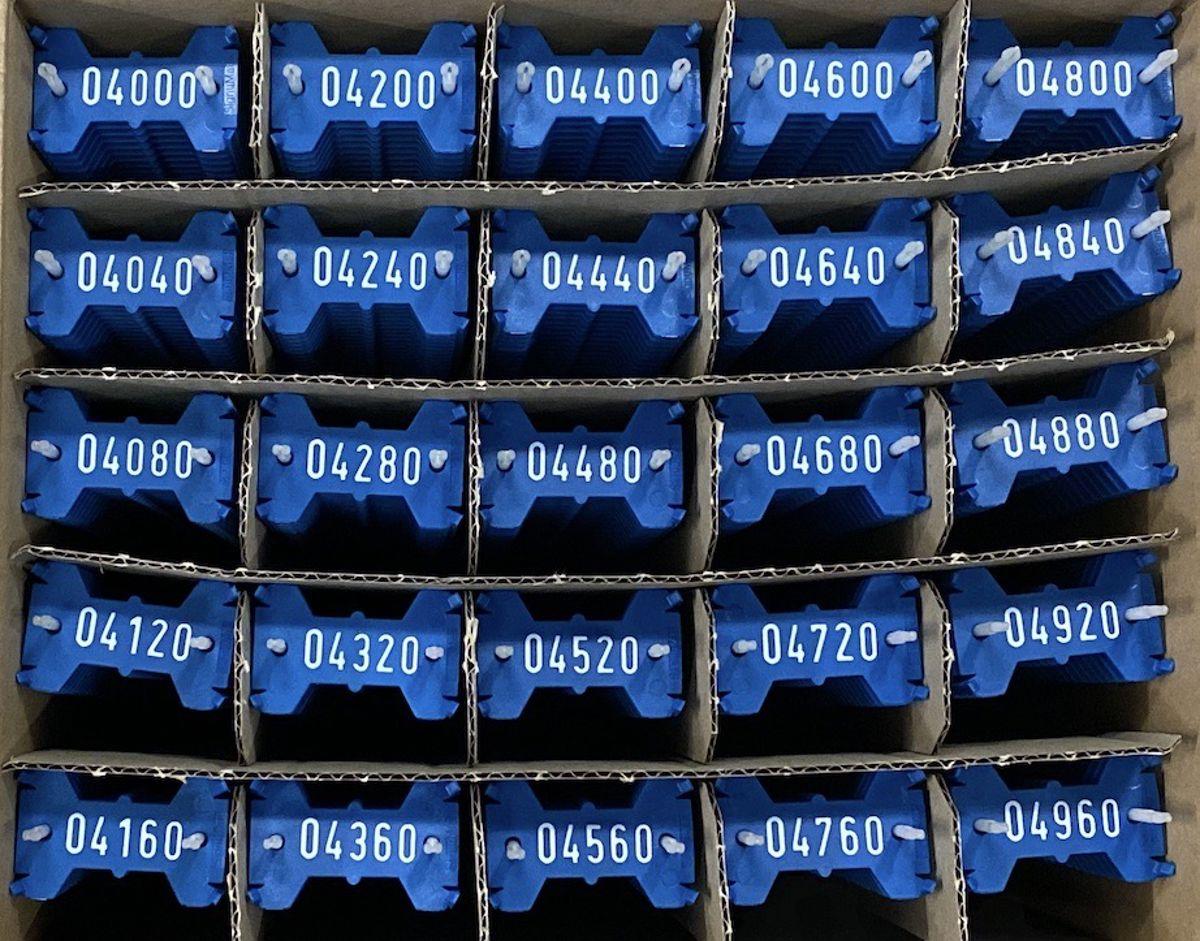 Signumat plaatjes blauw wit 4000-4999