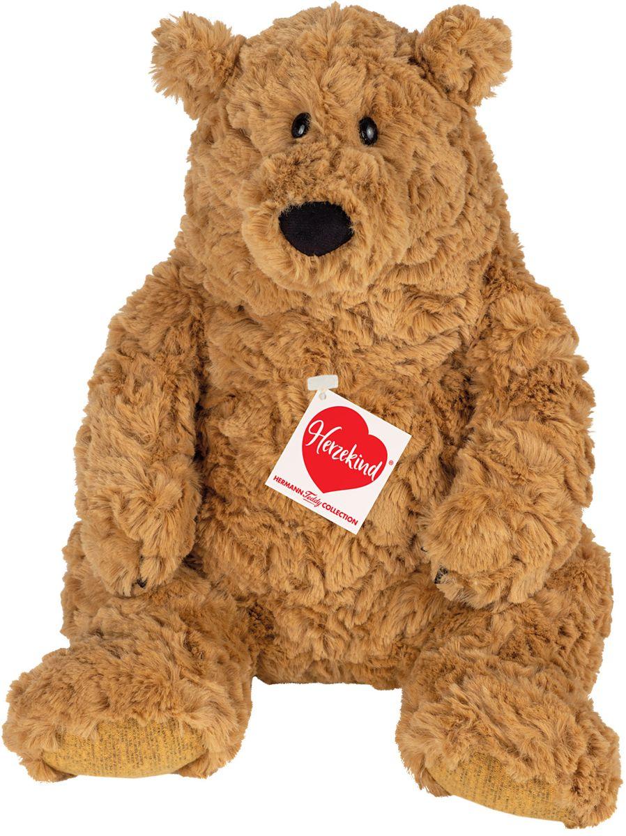 Hermann teddy bruine beer pluche knuffel