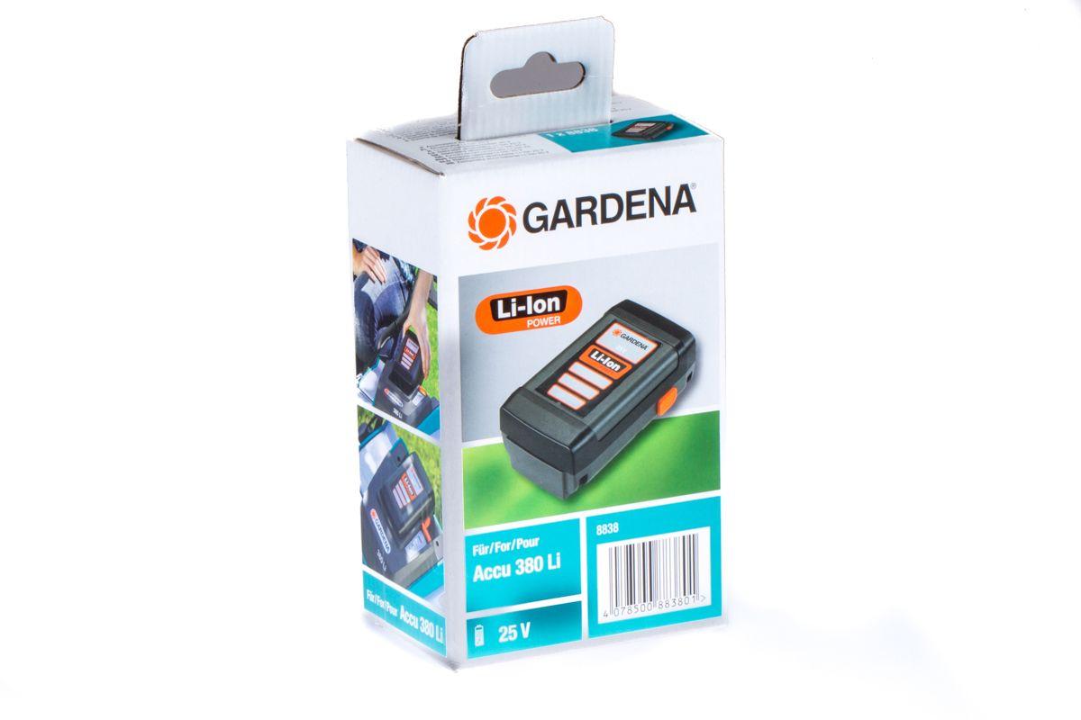 Gardena accu 25v 3.0ah kooimaaier 380li