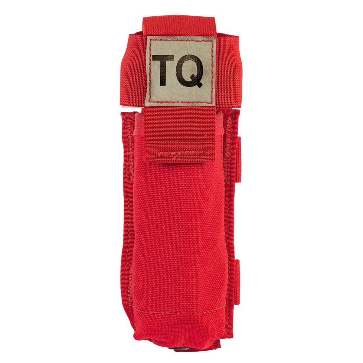 C-a-t tourniquet houder aan riem rood