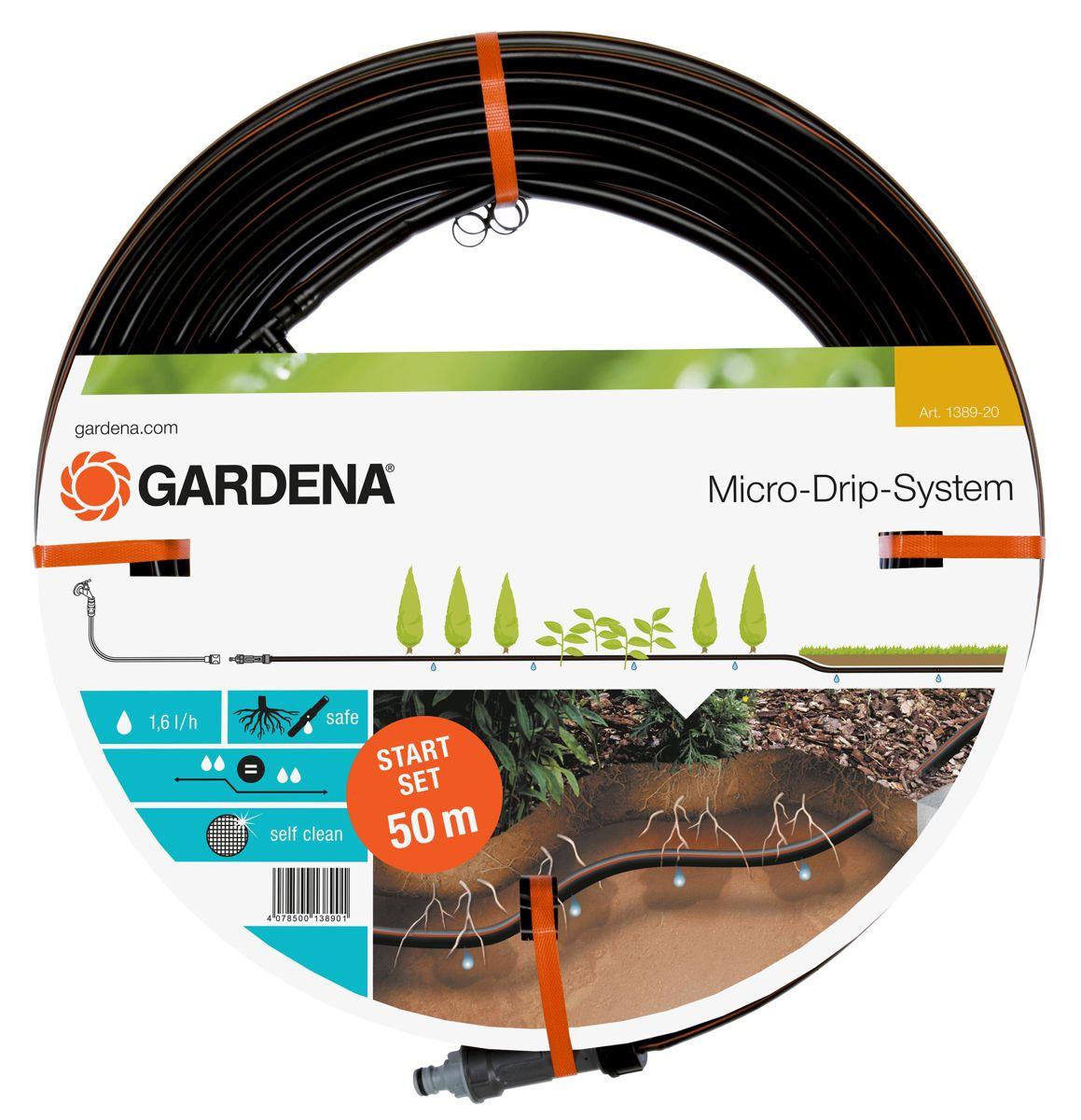 Gardena druppelbuis 13,7mm 50m.start set