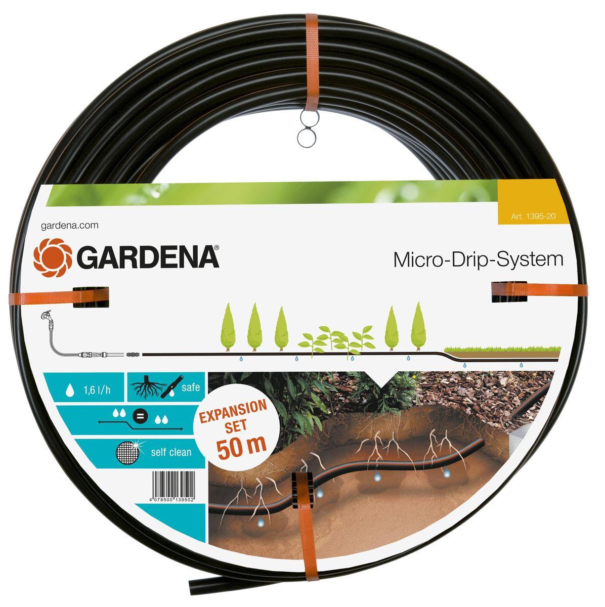 Gardena druppelbuis 13.7mm 50m. uitbreid